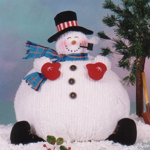 CG89 - All Puffed Up Snowman