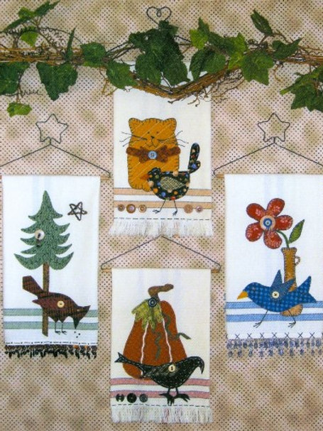 KS 269 Bird Tales Towels