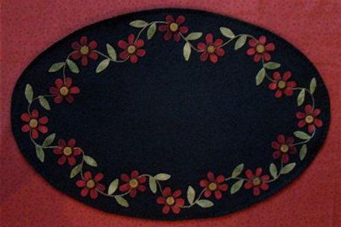 PRI 191 Scattered Flowers Table Mat
