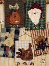 KS 230 Homespun Holiday Towels