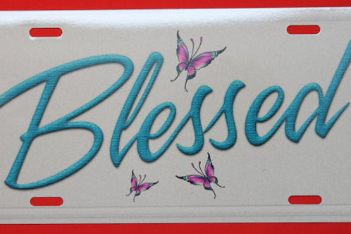 TPH112 Blessed Blue W/Butterflies