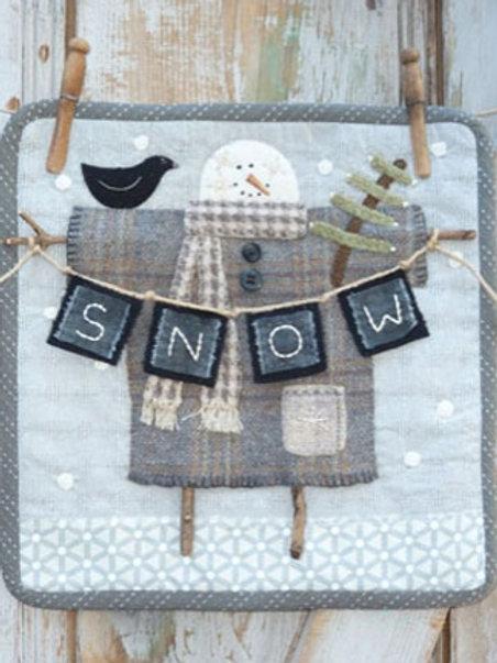 HTH385 Clothesline Snowman