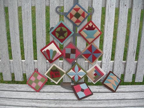 UGM201 - Quilt Ornaments