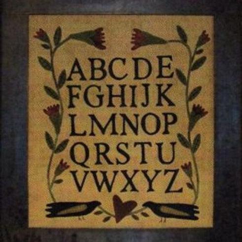 PRI 348 Wool Alphabet Sampler