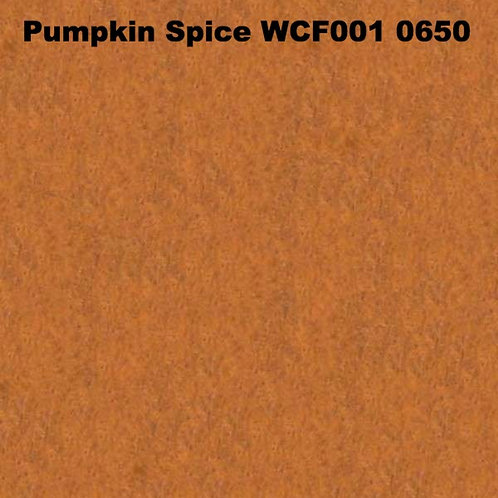 Pumpkin Spice WCF001 0650 Fabric 20/80