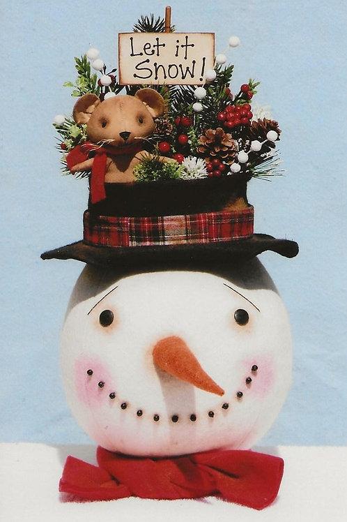 HHF516 Let it Snow Snowman
