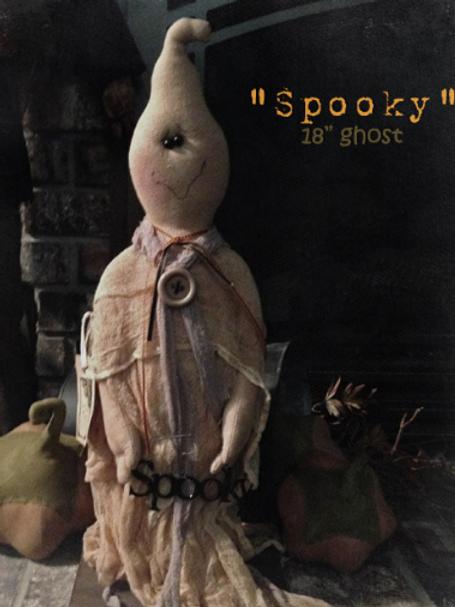 SNS165 - Spooky Ghost Pattern