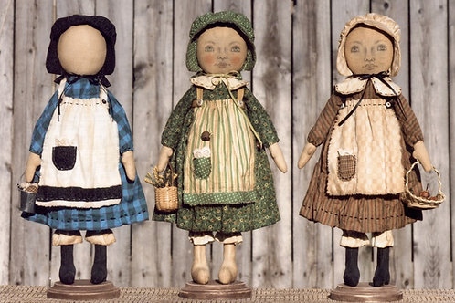 HHF 408 - Early Style Standing Settler Sisters