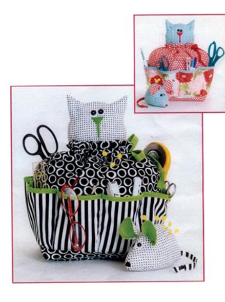 CG151 Sewing Catty & Pin Cushion Mouse