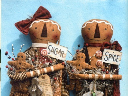 HHF296 - Everything Nice Gingerbread Boy & Girl