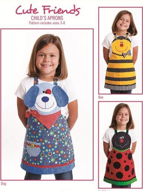 CG155 - Cute Friends Child Aprons