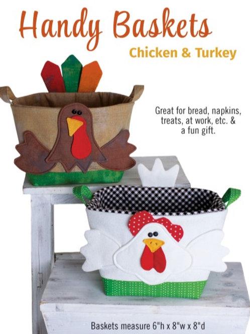 CG181 - Handy Baskets Chicken & Turkey
