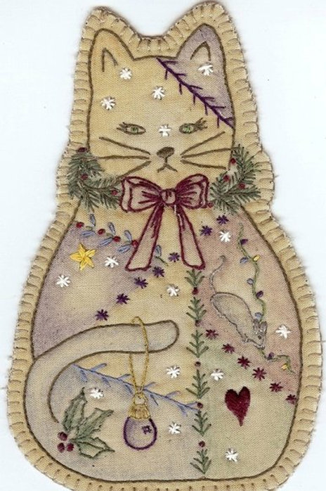 CK XMAS 14 Cat Ornament