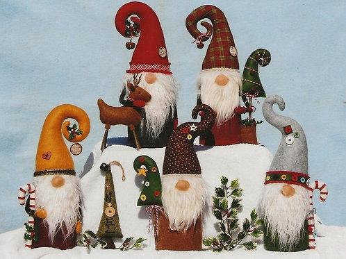 HHF502 - Nisse Santa Gnomes
