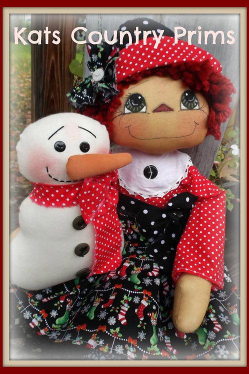 KCP168 - Annies Snowman