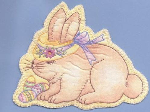 CK SP05 Heirloom Bonnet Bunny Ornament