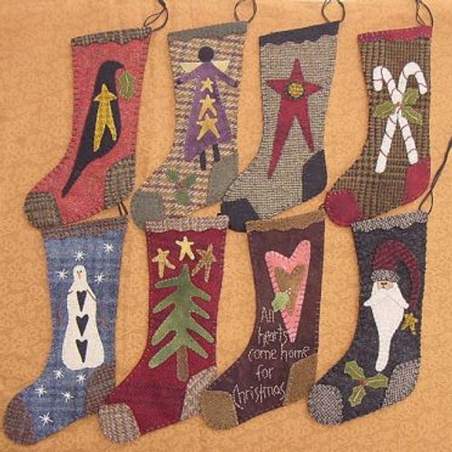 "PRI 151 9"" Wool Christmas Stockings"