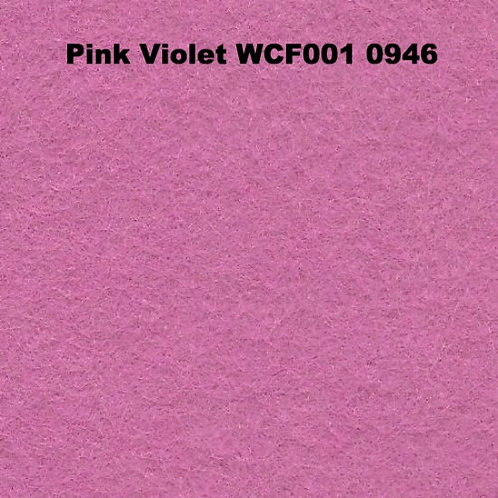 Pink Violet WCF001 0946 Fabric 80/20