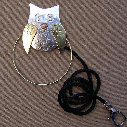 SS 0605 Owl Scissor Sitter