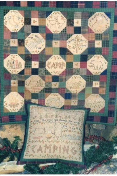 BR99 - Camping Quilt and Pillow