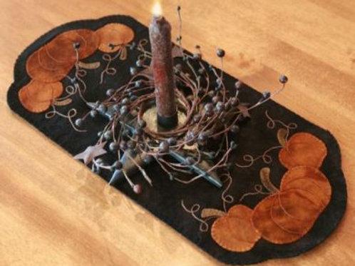 PRI 373 Pumpkin Trio Table Mat