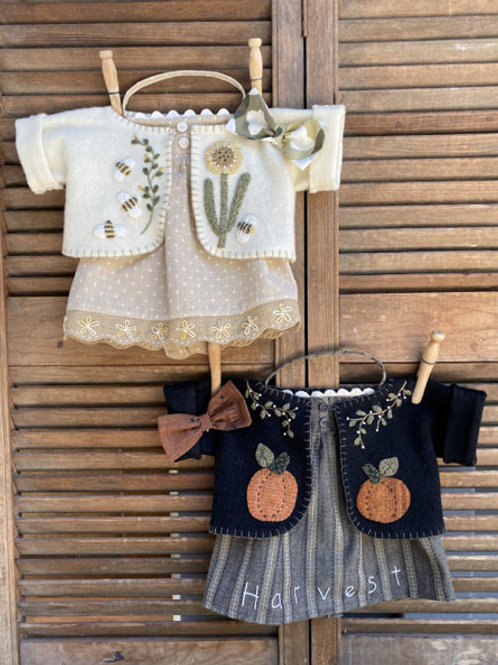 HTH 412 Ms Merry Beary Clothing Set