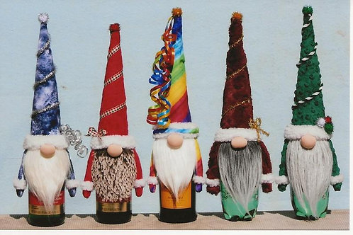 HHF519 Gnome Bottle Toppers