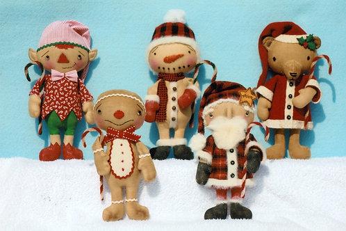 HHF311 - Christmas Gathering Ornies - the Boys