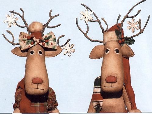 HHF431 Rudy & Ruby Reindeer