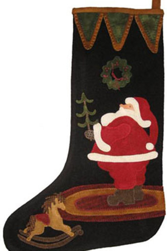 LAS450 - Santa Stocking