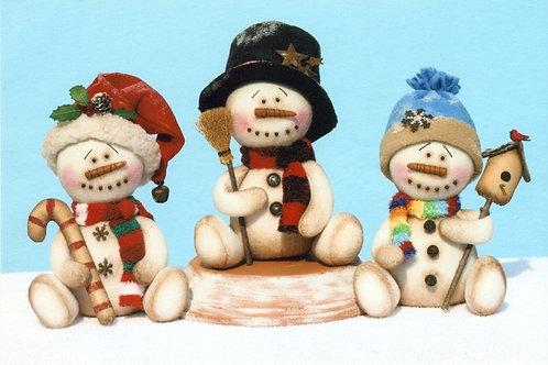 HHF313 - Prim Little Snow Buddies
