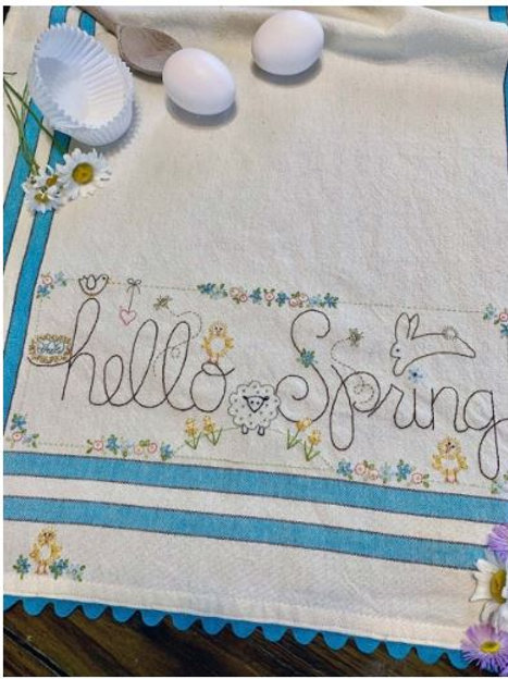 BR252 - Hello Spring Kit or Pattern