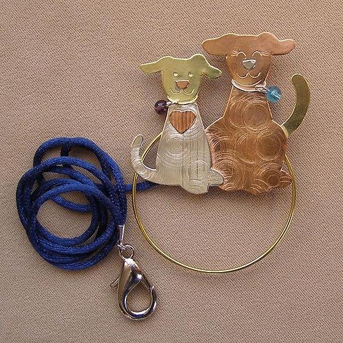 SS 0609 Puppies Scissor Sitter