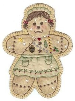 CK XMAS 16 Gingerbread Girl Ornament