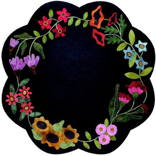 PRI 385 Garden Blooms Table Mat