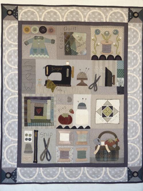HTH368 Sew Love Quilt Pattern