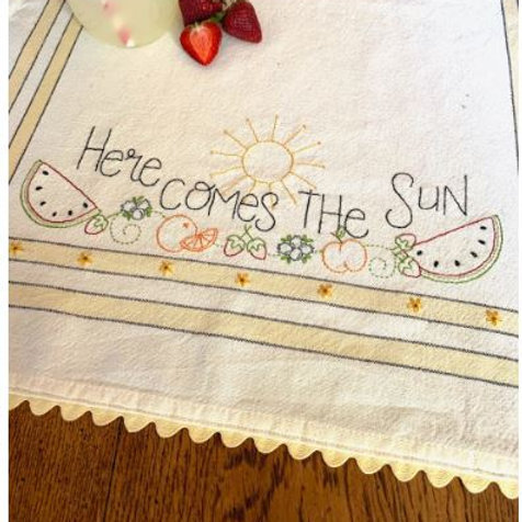 BR256 - Here Comes the Sun Pattern or Kit