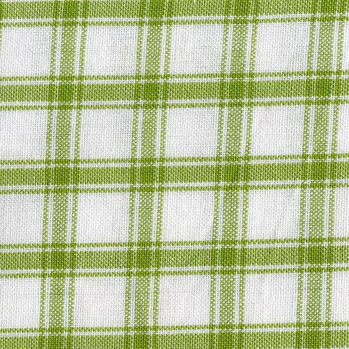 Tea Towel -Lime Green Large Check