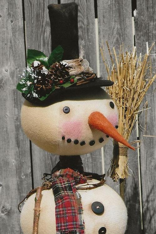 HHF515 Primitive Snowball Snowman