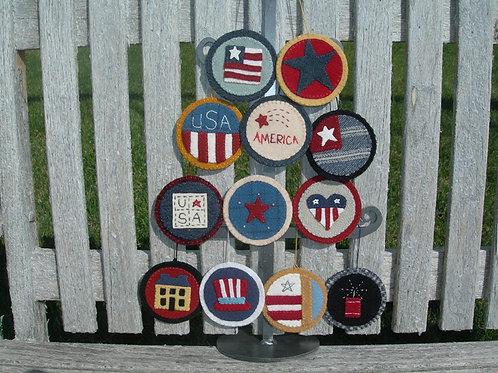 UGM715 - Americana Ornaments
