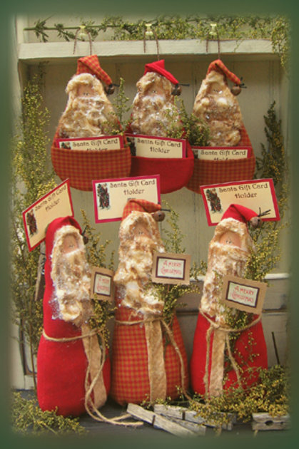 CF850 - Santa Gift Card Holders
