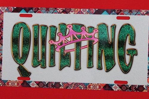 TPH122 Quilting Queen Green