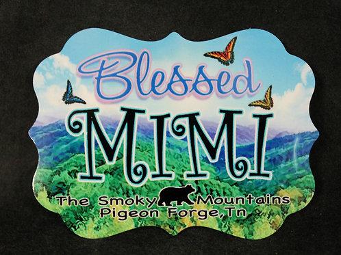 Aluminum Magnet  - Blessed Mimi - SMSPM008