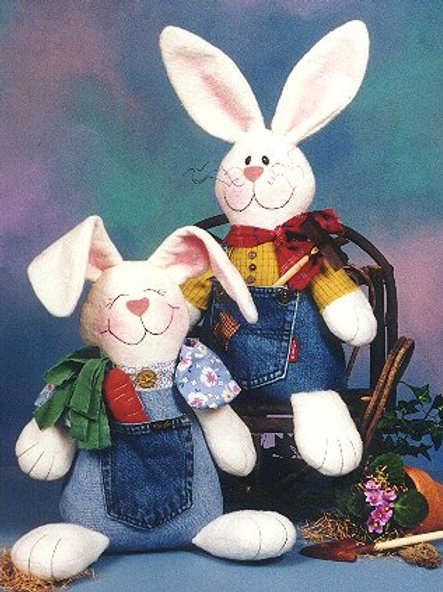 CG82 - Blue Jean Bunnies