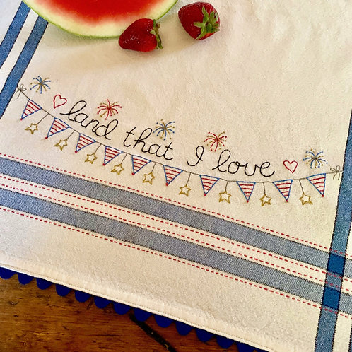 BR257 - Land That I Love - Kit or Pattern