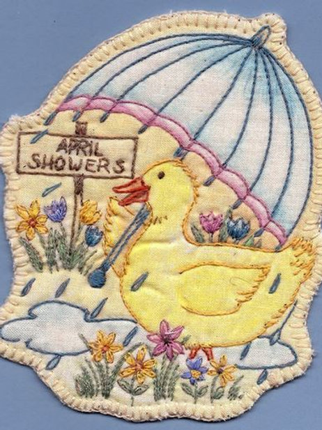 CKS SP03 Heirloom April Showers Ornament