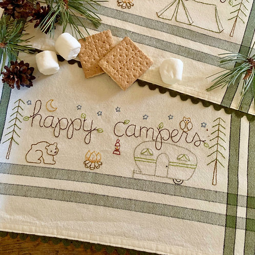 BR258 - Happy Camper  Kit or Pattern