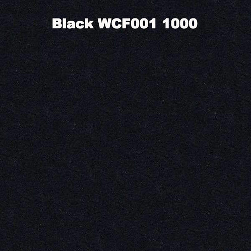 Black WCF001 1000 Fabric 20/80