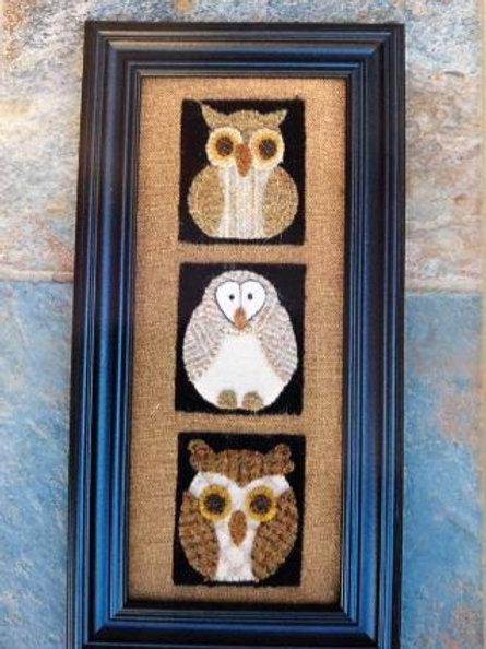 BPJ 347- Three Wise Owls