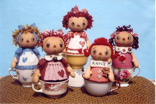 HHF292 - Sweet Annie Tea Cup Dolls